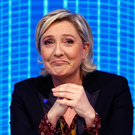 French politician Marine Le Pen. Photo: AP