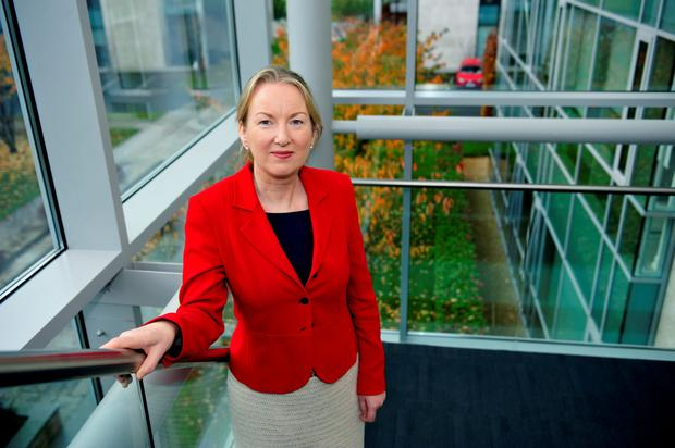 Siobhan Talbot, managing director of Glanbia, is overseeing a major change at the Irish plc. Photo: Bloomberg