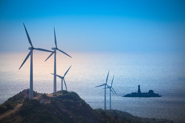 More than 250 windfarms power Irish businesses and communities across the all-Ireland energy market (Stock picture)
