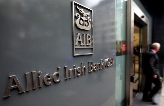 Traditionally, AIB and Bank of Ireland were neck-and-neck in terms of their share of the mortgage market Stock image
