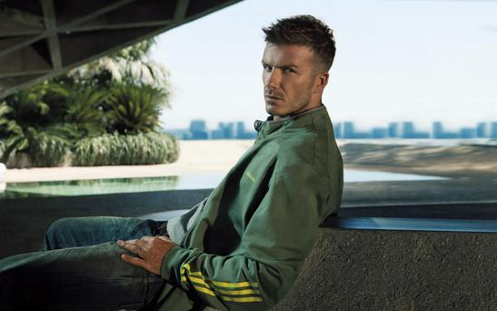 David Beckham, who starred in the Adidas adverts for its Superstar range. The German sportswear firm plans to concentrate on fashionwear and invest in the US as it bids to gain ground on Nike