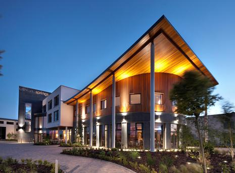 The Athlone Springs Hotel is profitable and being offered for sale as a going concern