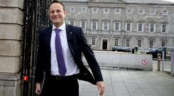 Social Protection Minister Leo Varadkar has a lot of work to do in relation to pension schemes