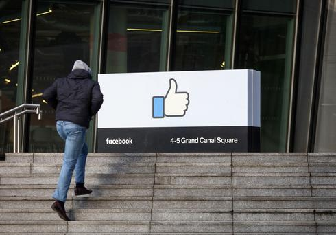 Facebook currently employs 1,600 people in its Grand Canal Square premises, but expects to fill that over the next 12 months. Photo: Bloomberg