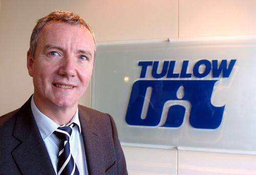 Founder Aidan Heavey to move roles at Tullow Oil in April.