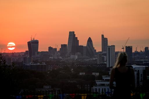 The potential prize for competing post-Brexit cities is enormous. Insurers, banks and brokerages employ tens of thousands in London in some of the highest-paid jobs anywhere. Photo: Bloomberg