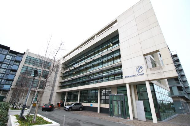 An office unit at Dublin's Paramount Court is reserved at a price of €1.45m-€1.55m.