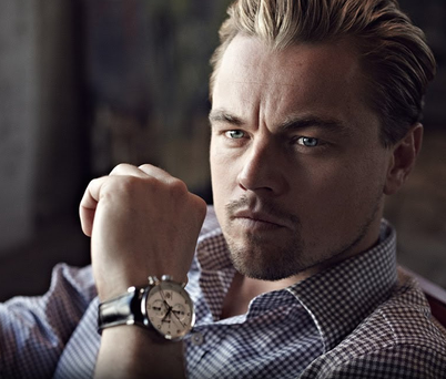 Actor Leonardo DiCaprio is the face of TAG Heuer, one of the watchmakers looking to the future.