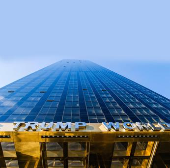 The sale of properties in Trump World Tower were a key factor in the financial survival of Donald Trump