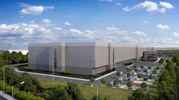 EPark is being developed by John Cleary Developments (JCD) and has planning permission for 300,000 sq ft of data centre space