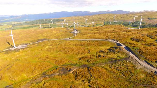Ireland's largest wind farm, Energia's 95MW facility at Meenadreen, south Donegal. Photo: Thomas McNulty