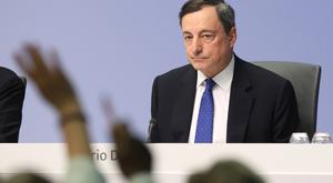 ECB president Mario Draghi said time is running out for the Eurozone's banking sector