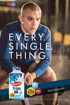 The protein milk advert with Ian Madigan