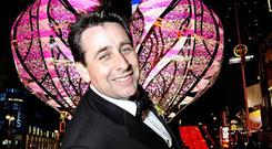 Franc – real name Peter Kelly – is the country's best-known wedding planner