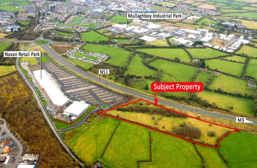 The site is located next to the successful Navan Retail Park
