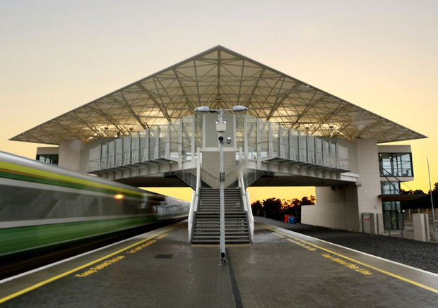Park West train station, which gives passengers direct access to Dublin city centre in 20 minutes