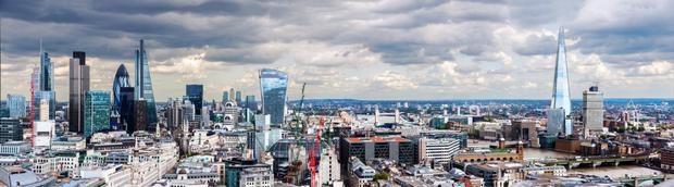 More than 300,000 Irish people live in Britain - with many of them calling London, above, home