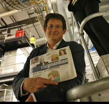 Former Guardian editor-in-chief Alan Rusbridger's copycat digital advice is flawed