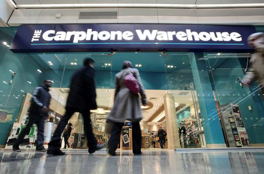 Carphone Warehouse has merged with Curry's and PC World