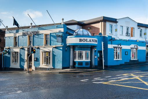 Bolands pub occupies a central location in Stillorgan