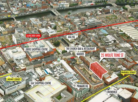 The property is located within a short walk of Henry Street
