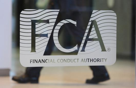 UK Financial Conduct Authority in London