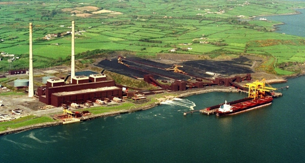 Shannon Estuary is a key location for marine-based industry.