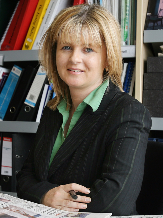 CBRE head of research Marie Hunt