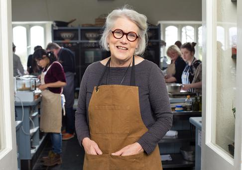Darina Allen at the Ballymaloe Cookery School which includes her daughter Rachel, Clodagh McKenna and Catherine Fulvio in its list of alumni. Photo: Tony Gavin