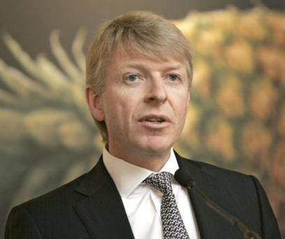 Fyffes chairman David McCann – the firm was sold for €751m