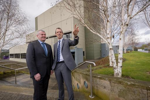 Ger Carmody, Site Lead, MSD in Ballydine, and Ger Brennan, Managing Director for Human Health at MSD Ireland.