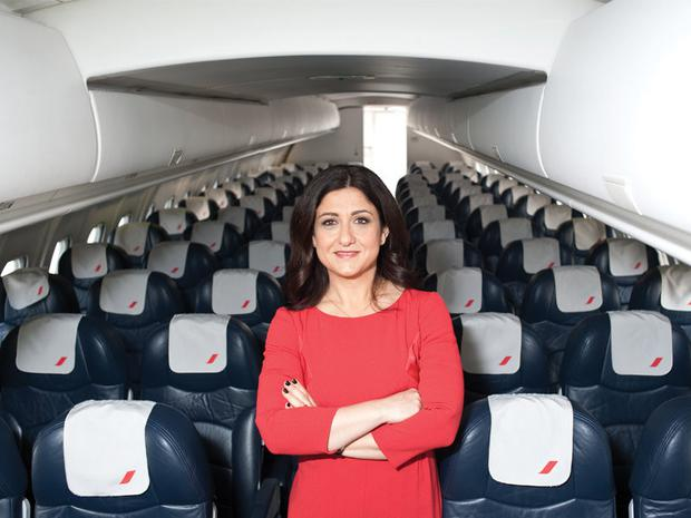 Flybe CEO Christine Ourmieres-Widener