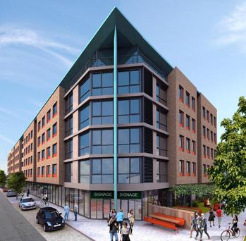 The Quarters on Brown Street, Dublin 8, has planning for 281 beds
