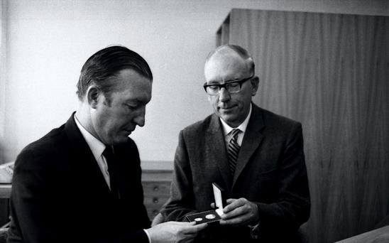 Charles Haughey and TK Whitaker – he wrote frequent letters to the taoisigh of the day insisting that pay remained within the realm of what could be afforded