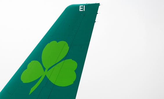 Aer Lingus owner IAG posted record first quarter profits Photo: Bloomberg