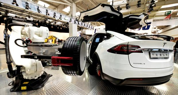 Tesla's recent performance is encouraging, but close attention should be paid to its business model. Photo: Reuters