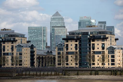The largest global banks in London plan to move about 9,000 jobs to the continent