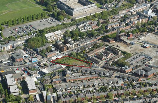 The property is located 150m from the entrance to St James's Hospital - the proposed site of the new National Children's Hospital