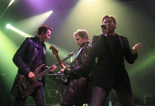 Duran Duran on stage in the Shepherds Bush Empire 02 – it is one of the venues operated by Live Nation-controlled AMG