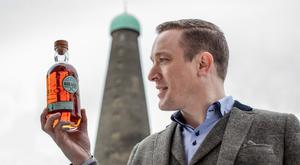 Peter O'Connor, brand ambassador for Roe & Co, at St James's Gate Brewery in Dublin
