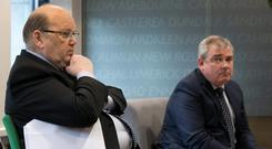 Finance Minister Michael Noonan is expected to launch an IPO of AIB shares soon, with conflicting views on how best to spend it overshadowed by debt