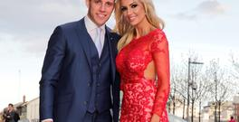 Wesley Quirke and Rosanna Davison