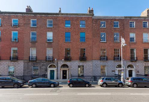 No 33 Fitzwilliam Place and its rear mews, 33 Leeson Close, offer a combined 7,000 sq ft of space in the heart of Dublin city's Georgian core