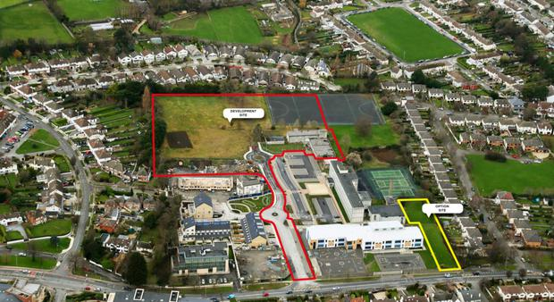 The 2.18 hectare (5.4 acre) site at Our Lady's Grove Primary School in Goatstown has been sold for 30pc above its €10m guide price
