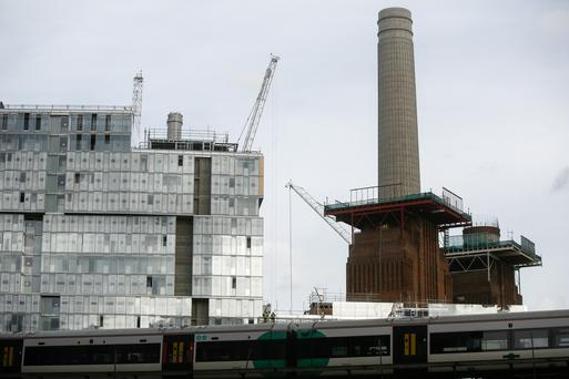 The Battersea Power Station development in London
