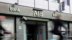 The time is right to dispose of the State's 25pc holding in AIB but it must avoid temptation and pressure to unload more stock. File photo: Bloomberg