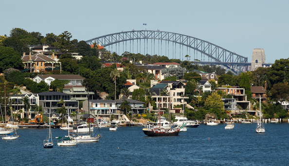 Leading asset management boss fears correction in the Australian property market. Photo: Bloomberg