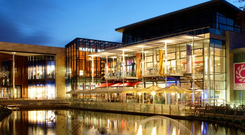 Dublin's Dundrum Town Centre is Ireland's highest-rated centre but some rural outlets struggle