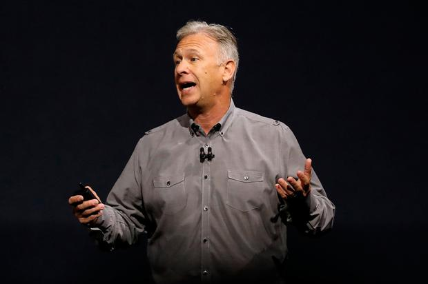 Apple's senior vice president of worldwide marketing Phil Schiller