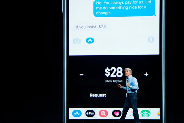 Senior Software Engineering VP Craig Federighi speaks about Apple Pay